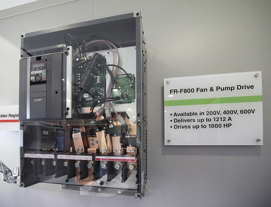 FR-F800 Fan And Pump Drive